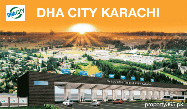 DHA City Karachi Market in the Month of January, 2014
