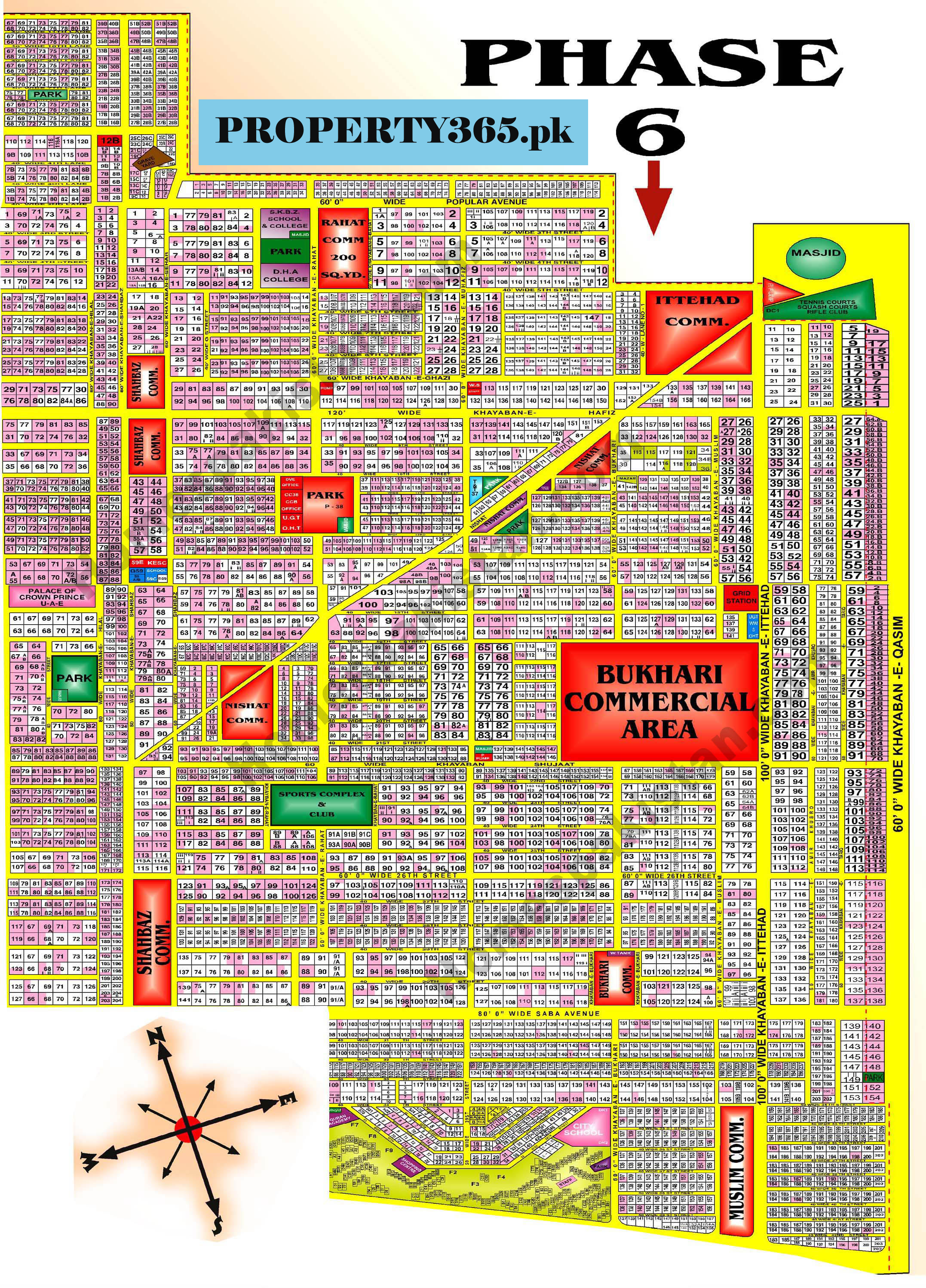 DHA Karachi Phase 6 (Phase VI) Map | Property 365 on kathmandu map, baghdad map, madras map, riyadh map, pakistan map, hong kong map, baluchistan map, kabul map, dakar map, mumbai map, lahore map, town map, dhaka map, hyderabad map, indus river map, khyber pass map, kolkata map, kuala lumpur map, islamabad map, abadan map,