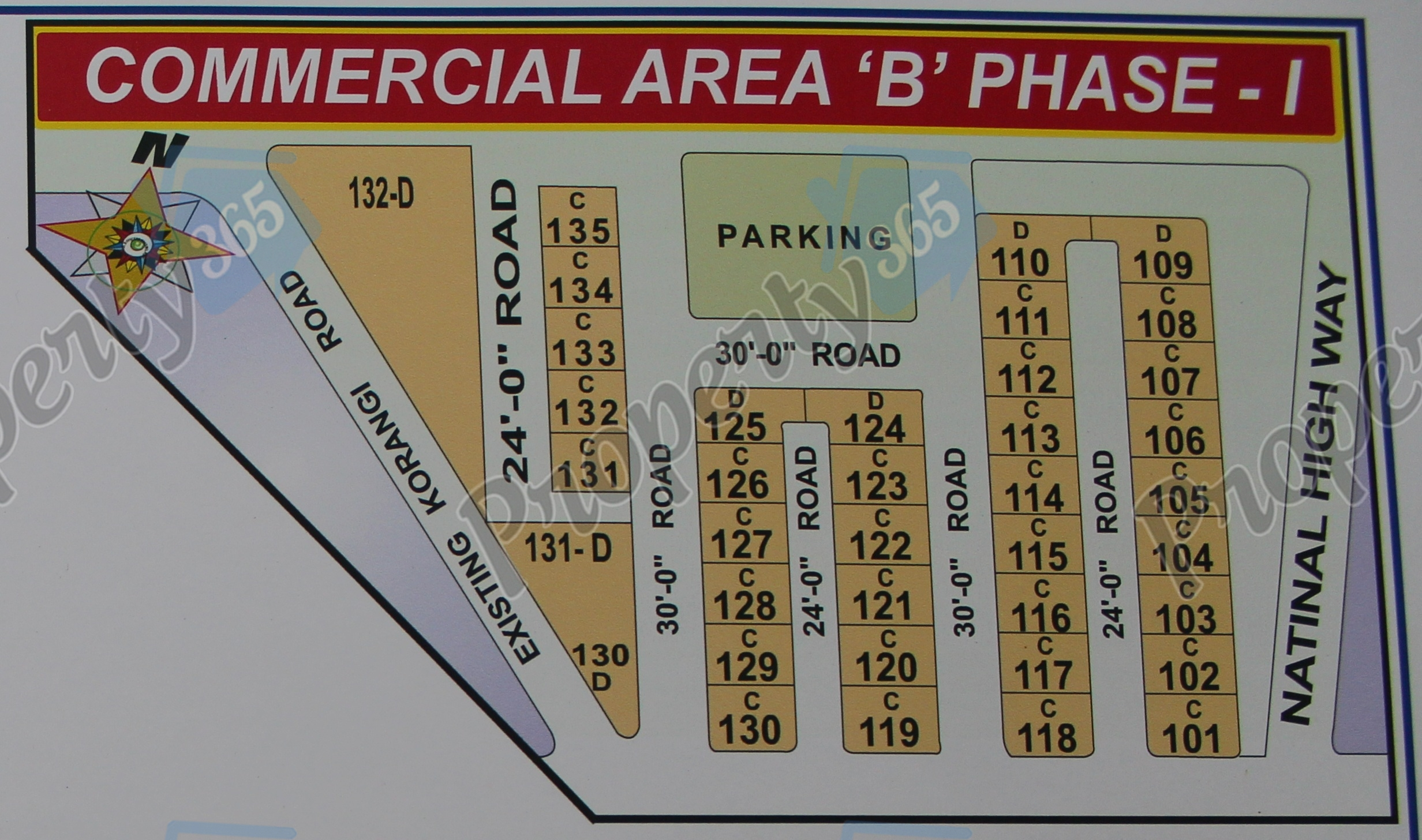 Commercial Area B Phase 1 (B Market)